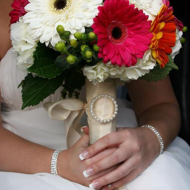 Jennie's Bridal bouquet
