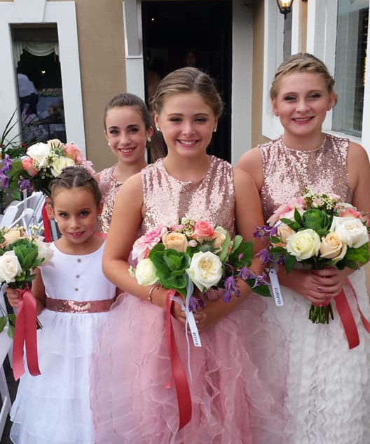 Here Come the Flower Girls1
