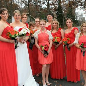 Jennie's Bridal Party