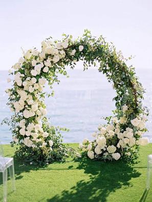 Floral Moongate