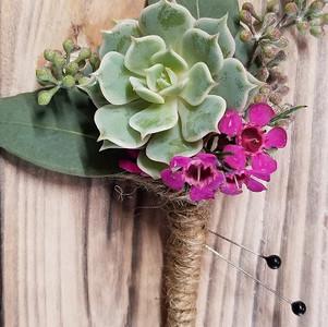 Succulent Boutoineer