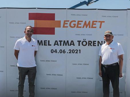 EGEMETFORGE yeni fabrikası ile gücüne güç katıyor