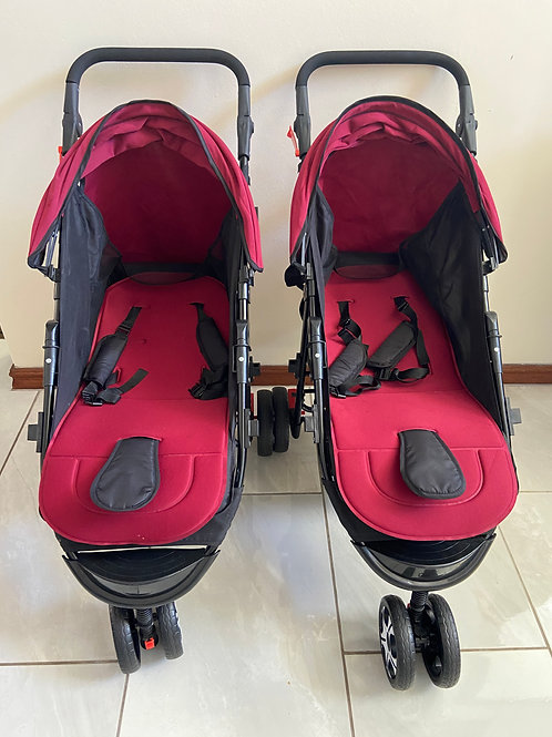 Nipper Baby Movers Double Cab Stroller