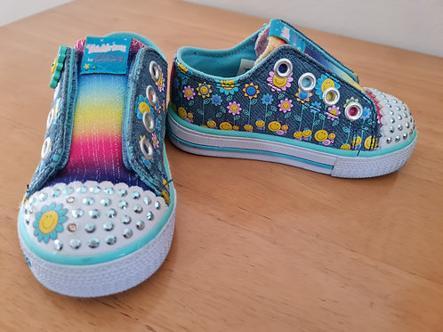 Sketchers twinkle toes light up shoes