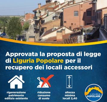 """""""Recupero dei vani accessori e/o pertinenziali e dei locali seminterrati esistenti"""" è da oggi legge."""