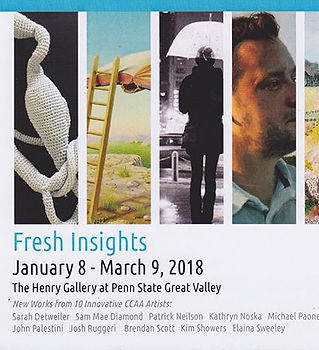 Thrilled to have 5 pieces in this show!