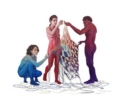 Collective Unraveling #3 (The Tribe)