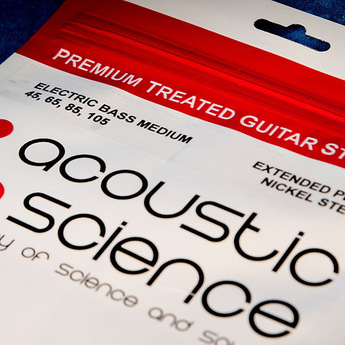 Acoustic Science Nickel Steel Elec Bass Strings