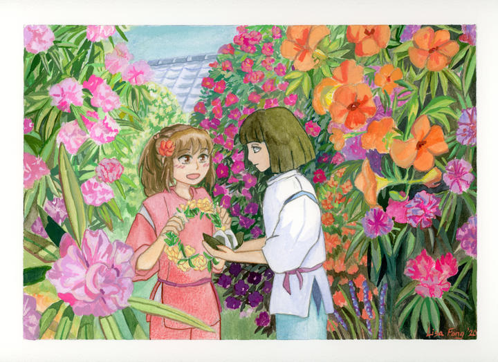 Spirited Away: Flowers