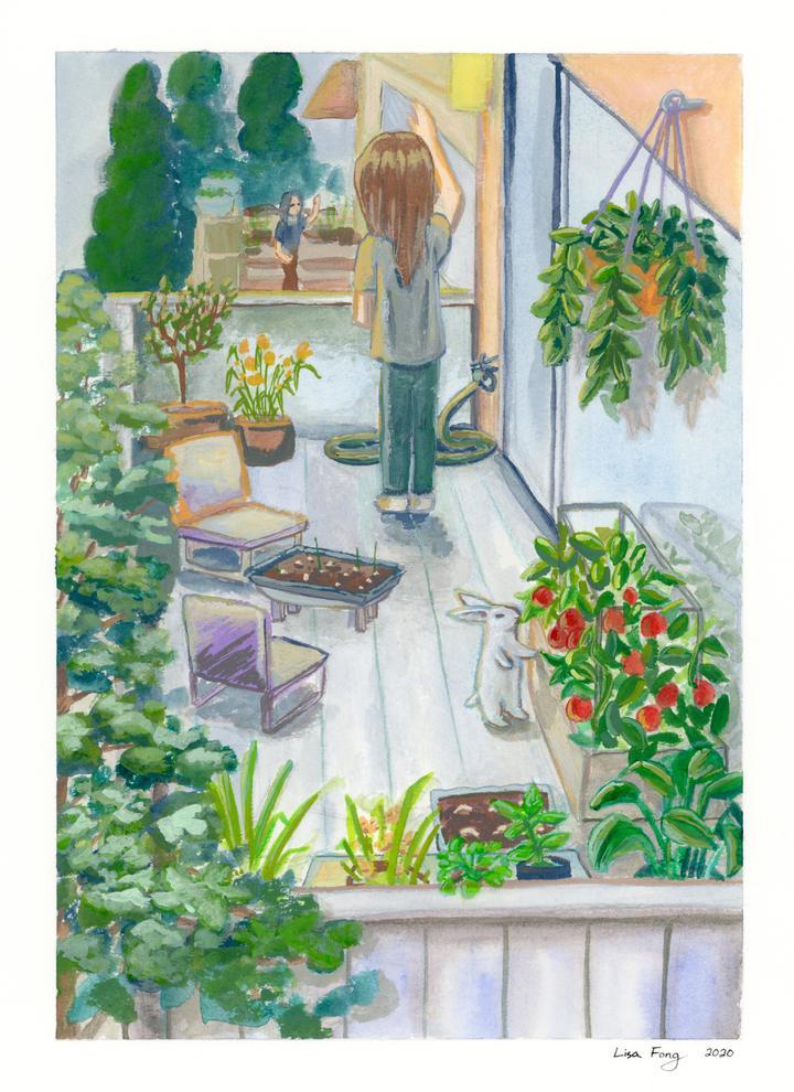 Garden Upstairs