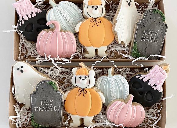 12 Count Halloween Boo Crew Cookies