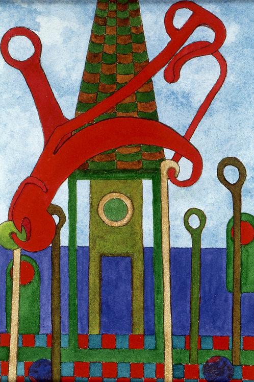 Exterior 84: Monument IV