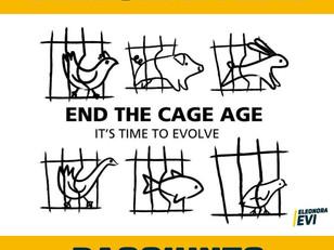 END THE CAGE AGE HA RAGGIUNTO 1 MILIONE DI FIRME!