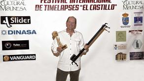 """Geoff Tompkinson gana el primer premio de la Muestra de Timelapses """"El Castillo"""""""