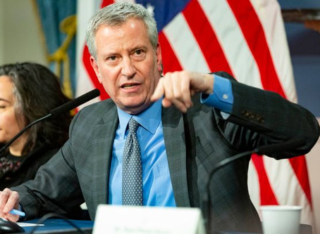 Workplace temperature checks will be key after coronavirus crisis, de Blasio says