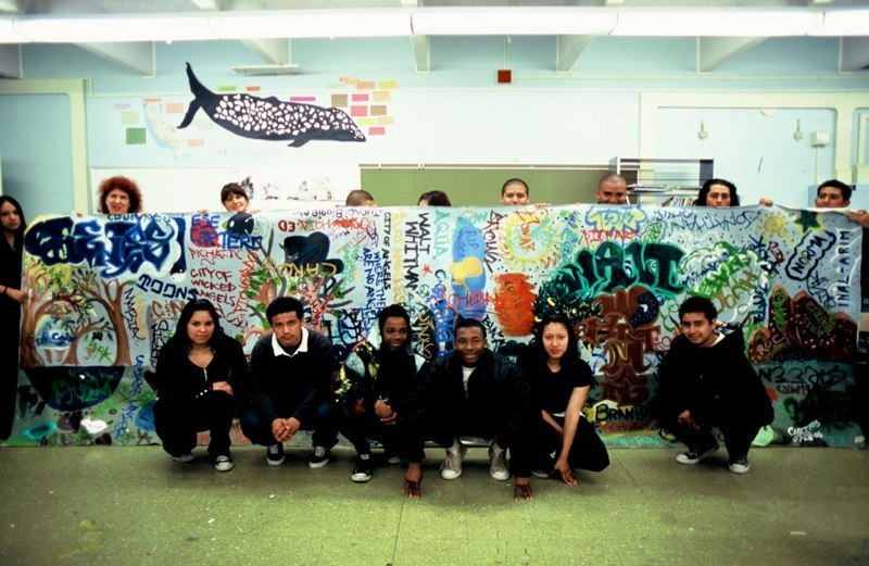 Whitman mural group 3