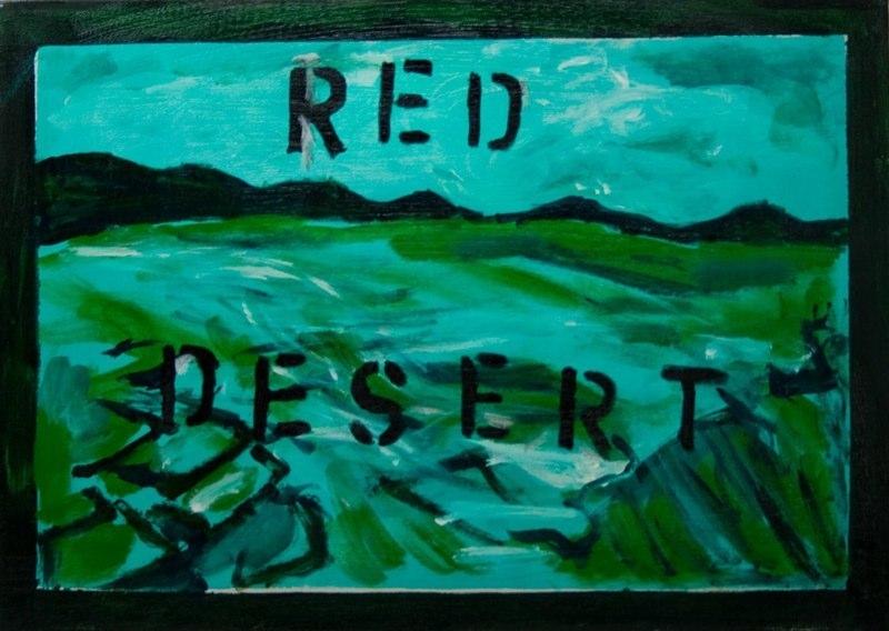 ROAD KILL RED DESERT