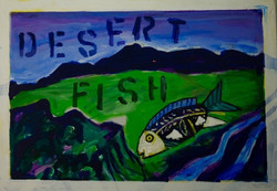 ROAD KILL DESERT FISH