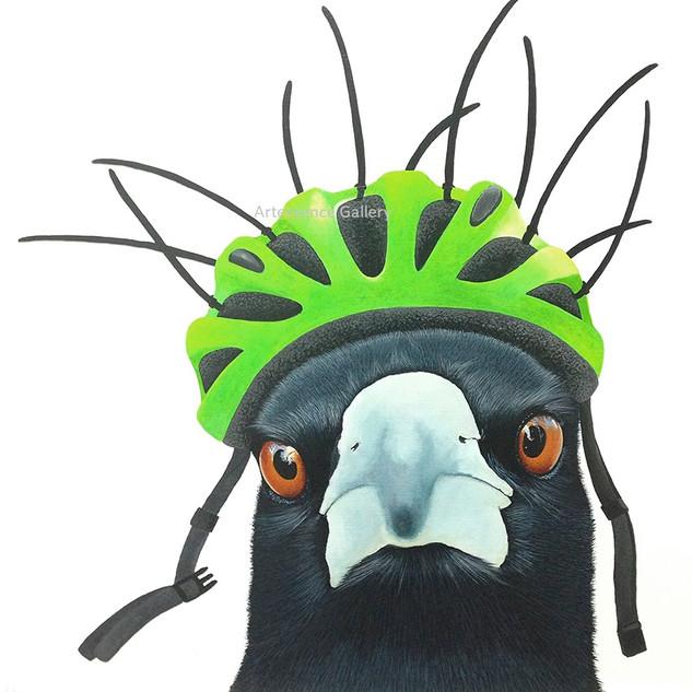 Retro Bird Brain