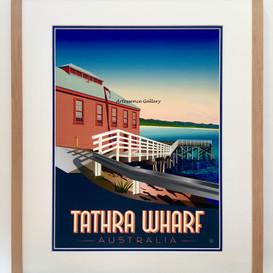 Tathra Wharf framed