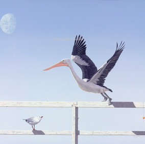 Departing (No. 3 in Triptych)