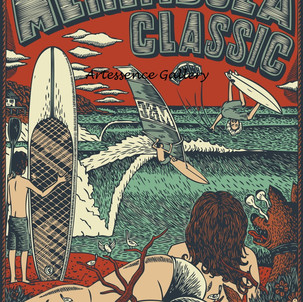 Merimbula Surf Classic 2011 Poster