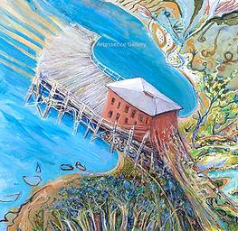 Tathra Wharf in an expansive Mood W.jpg