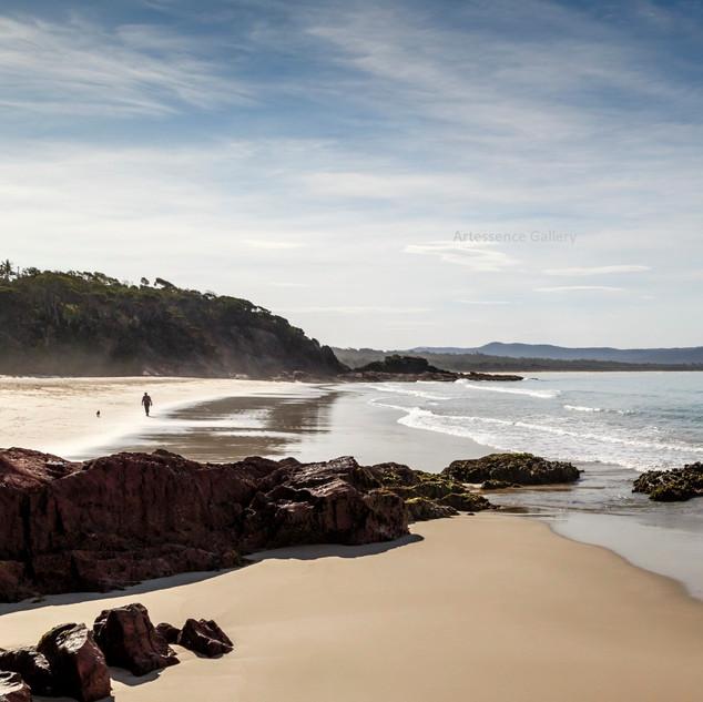 Dusk at Little Beach