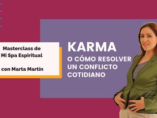 Karma o cómo resolver un conflicto cotidiano