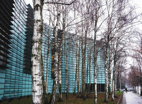 (ベルリンの建築)市民に開放されている珍しい大使館建築「北欧大使館」