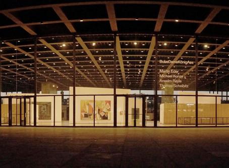 (ベルリンの建築)伝統と新しさを併せ持つミース作品「新ナショナルギャラリー」