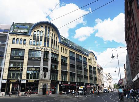 ドイツのおしゃれな中庭空間を堪能できる「ハケシェ・ヘーフェ(Hackesche Höfe)」