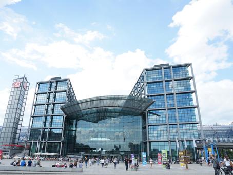 (ベルリンの建築)東西統一を果たした新しいベルリンを象徴するベルリン中央駅