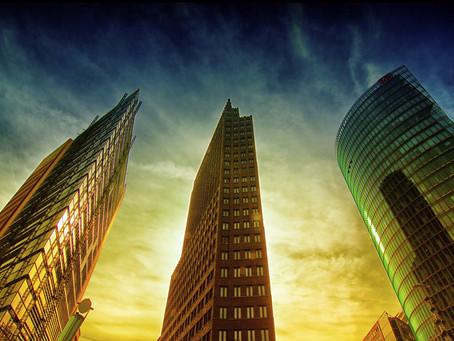 再開発によってかつての活気を取り戻した「ポツダム広場」
