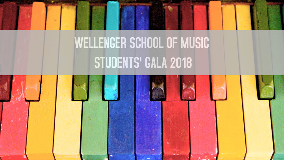 FIRST STUDENTS' GALA 2018
