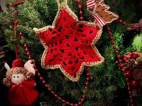 Little Star Coaster/Christmas decoration