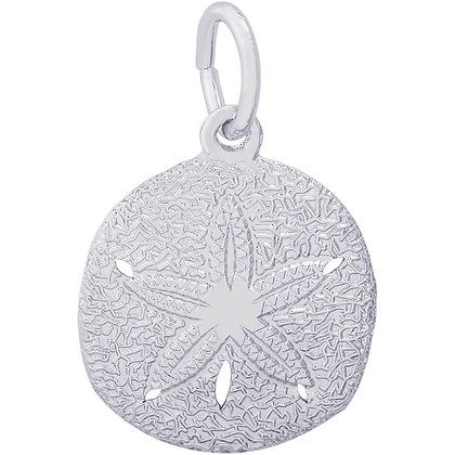 Rembrandt Charms - Sand Dollar - Sterling Silver