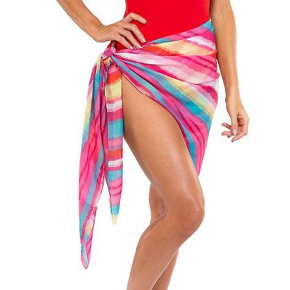 Stripe Sarong or Wrap - Multi Color