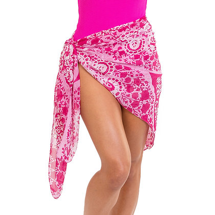 Pink Sarong or Wrap - Multi Color