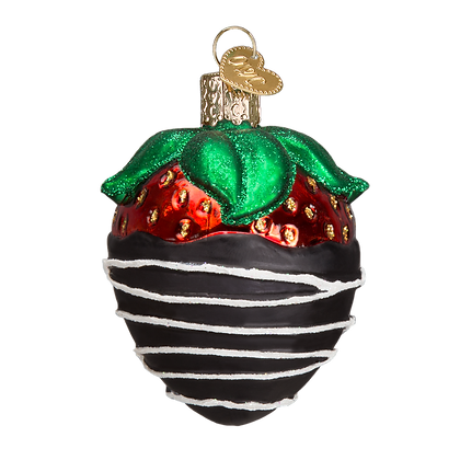 Old World Christmas Chocolate Strawberry Ornament