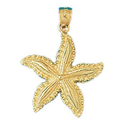14kt. Starfisht pendant