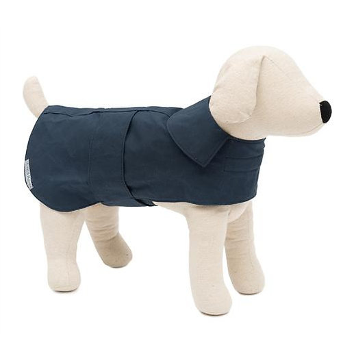 Mutts and Hounds HUNDEMANTEL Navy wasserdicht