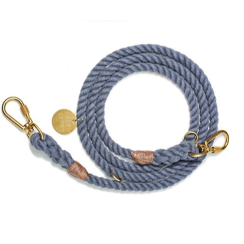 Found My Animal LEINE UP-CYCLED BLUE JEANS ROPE verstellbar