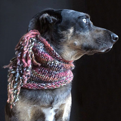 Aston's SNOOD Schal Rot
