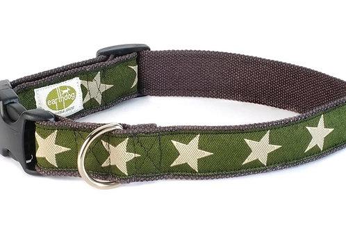 Earthdog Hundehalsband Kody olive Hanf