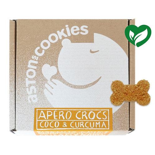 ASTON'S COOKIES Apéro Crocs Coco & Curcuma 200gr