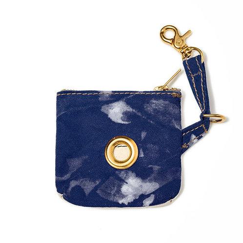 Found My Animal BLUE TIE DYE CANVAS Poop Bag