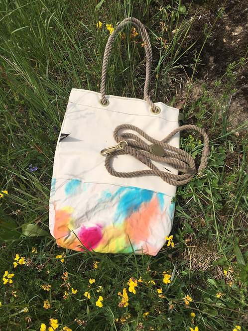 Found My Animal CANVAS TOTE BAG PRISMATIC