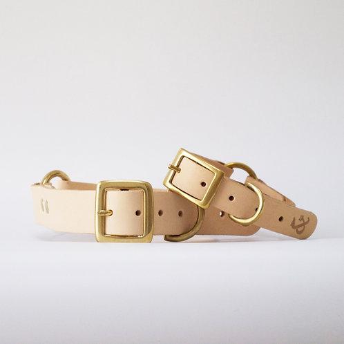Hundehalsband Natural von Fetch & Follow - Kläfferkram Hundeboutique