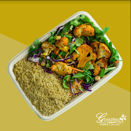 Get Your Vegan Bowl on at Giardino Gourmet Salads!
